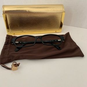 Tory Burch Eyeglass Frames with Case and Pouch